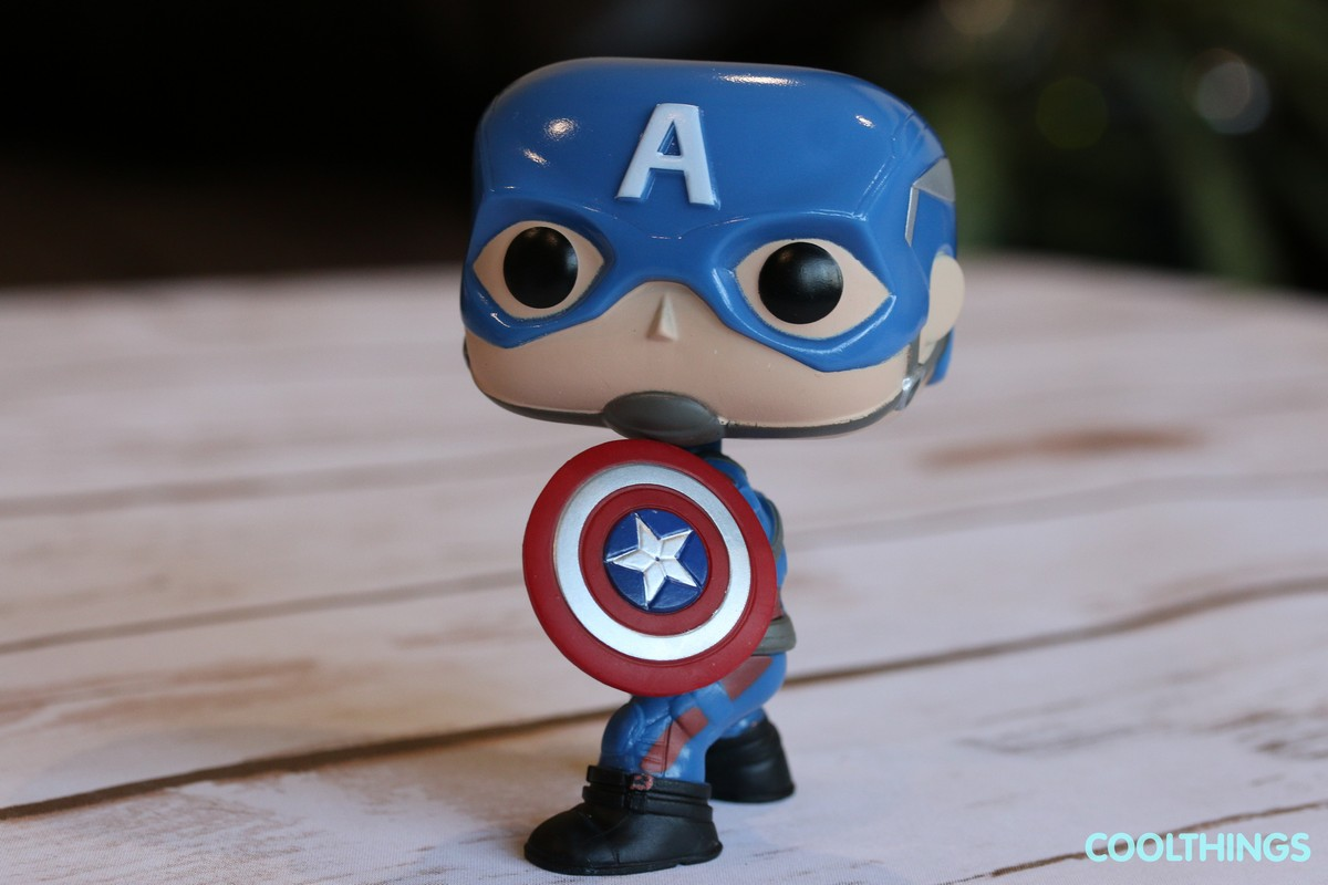 Marvel Civil War Captain America Funko Pop Vinyl Figure