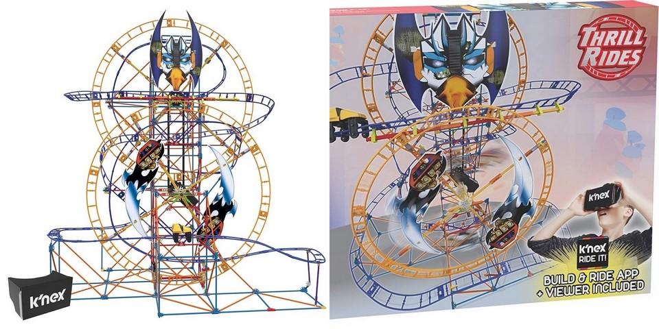 K'NEX Thrill Rides Bionic Blast Roller Coaster Building Set