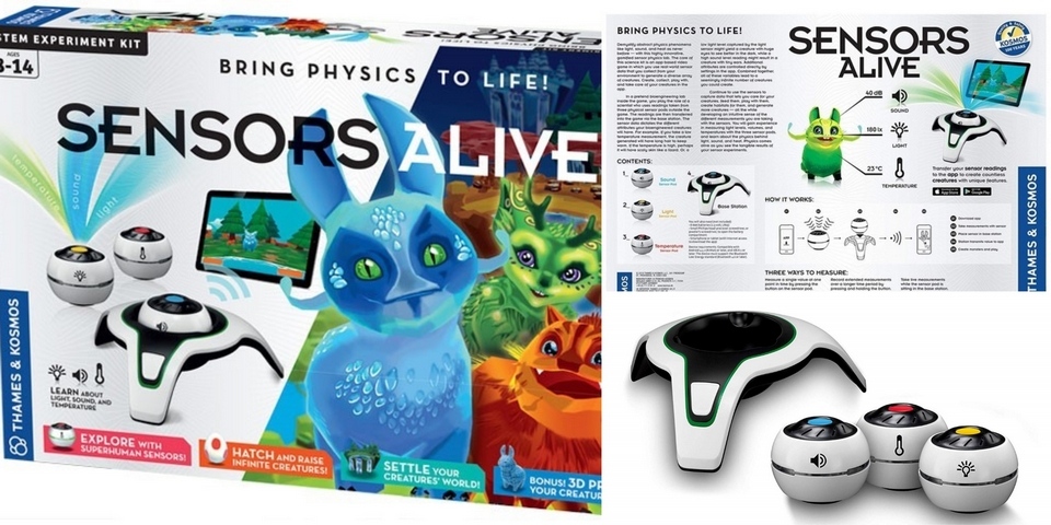 Sensors Alive Bring Physics to Life