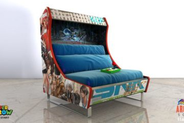 Harow Arcade Sofa Blue