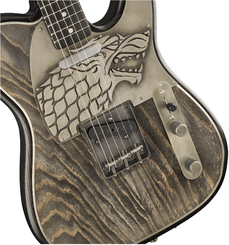 Fender Game of Thrones House Stark Telecaster Guitar