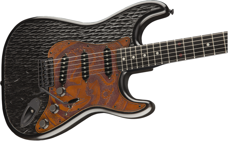 Game of Thrones Targaryen Stratocaster Guitar