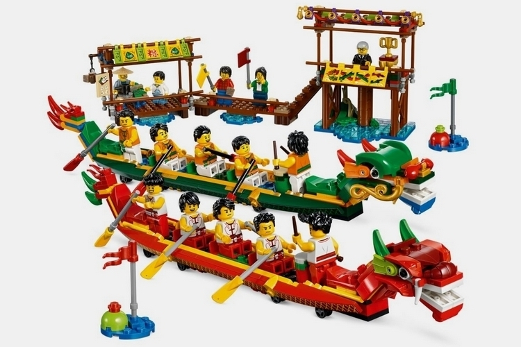 LEGO-dragon-boat-race-1
