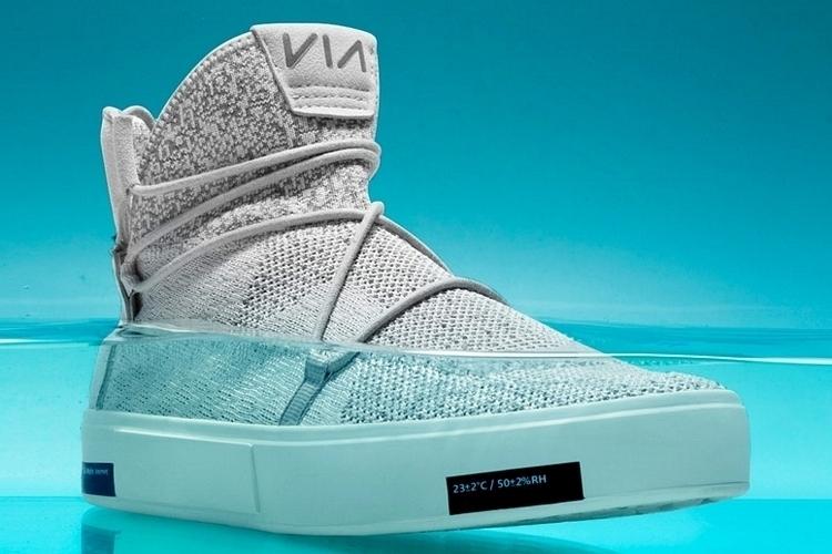 87dd2685834 Via Waterproof Knit Sneakers