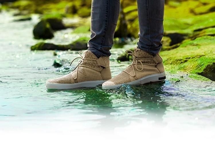 Via Waterproof Knit Sneakers