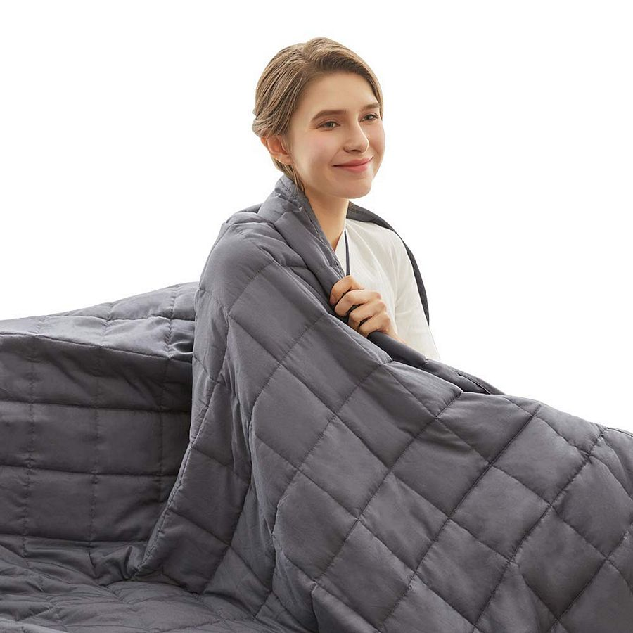 Weighted Idea Cooling Weighted Blanket 15 lbs Queen Size