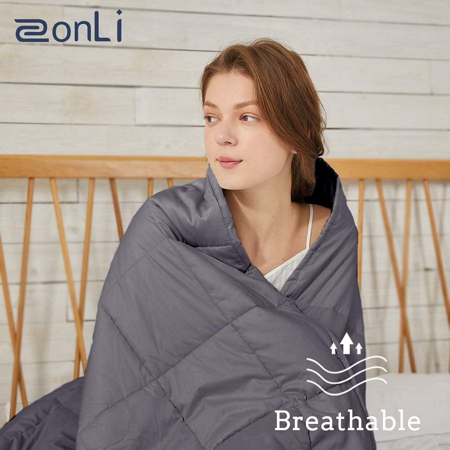 ZonLi Softest Weighted Blanket 12 lbs