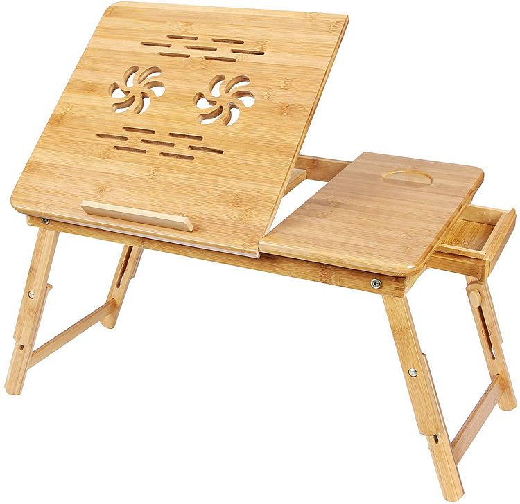 SONGMICS Bamboo Lap Desk