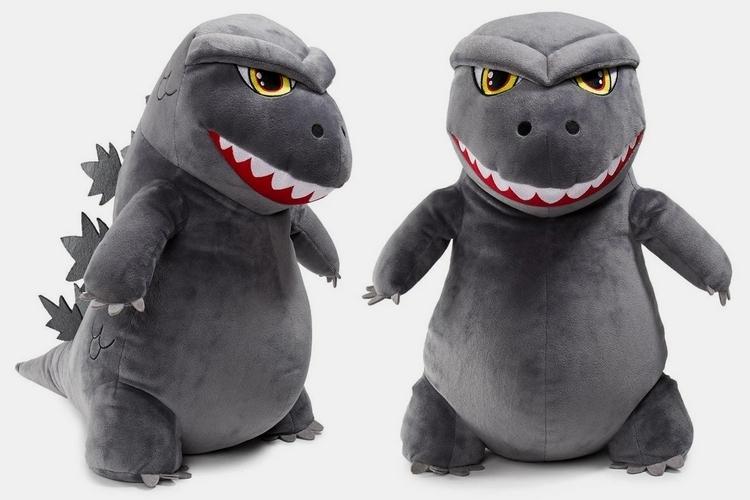 Ty Puppies Stuffed Animals, Kidrobot Godzilla Hugme Vibrating 16 Inch Plush